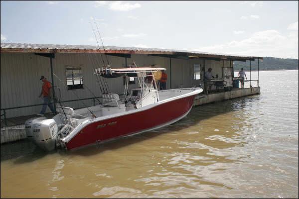 Rick ransom lake buchanan striper guide fishing charter for Lake buchanan fishing